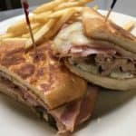 Cuban Sandwich and Fries at Bailey's Omaha NE